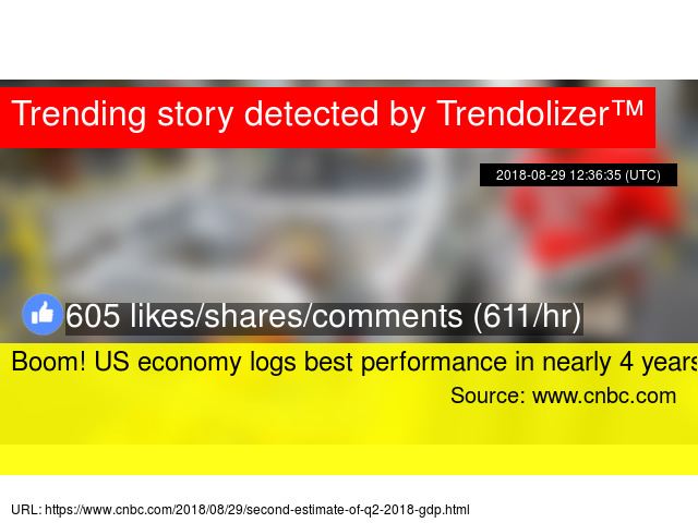 Boom! US economy logs best performance in nearly 4 years