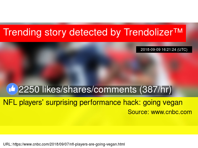 b147520474ff NFL players  039  surprising performance hack  going vegan
