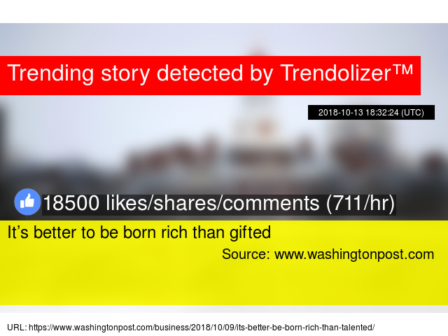 Its Better To Be Born Rich Than Gifted >> It S Better To Be Born Rich Than Gifted